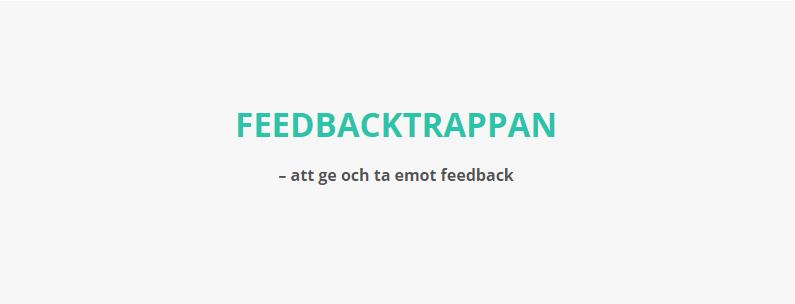 feedbacktrappan